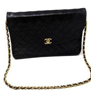 CHANEL Vintage Jumbo Flap Bag Auth Rare